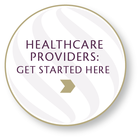 Healthcare Providers: Get Started Here Icon