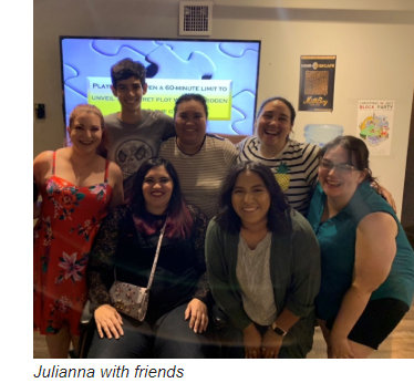 Julianna and friends
